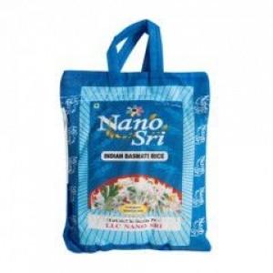 Индийский Рис Басмати (Нано Сри) 1кг. Необработанный