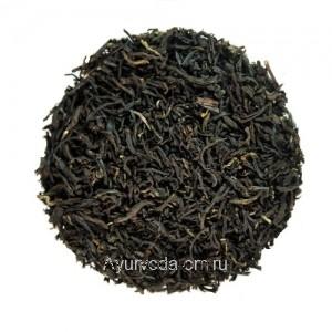Черный байховый среднелистовой чай Молочный Юннань 50г.
