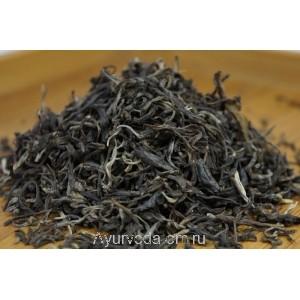 Зеленый крупно-листовой китайский чай Люй Мао Фен 50г.