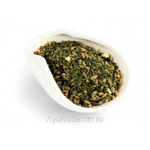 Генмайча - зеленый чай Сенча с добавлением обжаренного риса 50г.