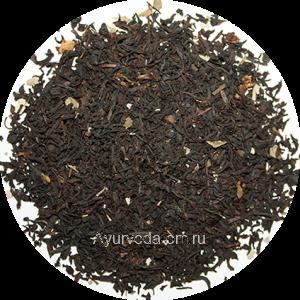 """Черный ароматизированный чай """"Черная Смородина"""" (Германия) 50г."""