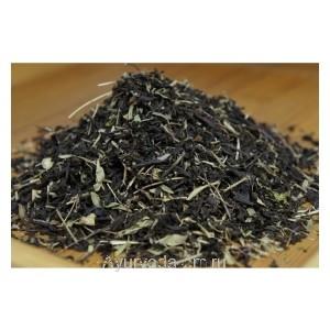 Чёрный китайский чай с чабрецом 50г.
