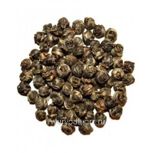 Китайский зеленый чай Молочная жемчужина Дракона 50г.
