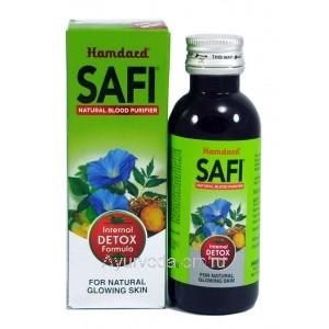 Safi (сироп Сафи) - растительный очиститель крови, 100 мл Hamdard, Индия