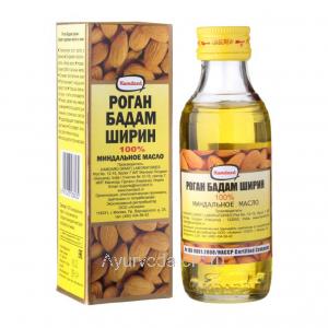 Миндальное масло 100 мл. (стекло) Роган Бадам Ширин, HAMDARD Roghan Badam Shirin