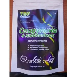Натуральный продукт Спирулина в Таблетках (Spirulina Organic)  100г.