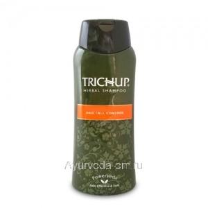 Индийский Шампунь Тричуп Хербал Контроль от Выпадения Волос (Hair Fall Control) Trichup Herbal Shampoo 200мл.
