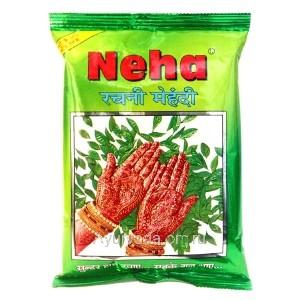 Хна для тату (мехенди) порошок Неха (Rachni Mehandi NEHA) 25 гр. Индия
