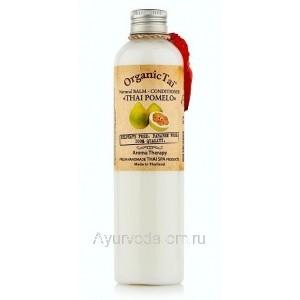 Натуральный бальзам-кондиционер «ТАЙСКИЙ ПОМЕЛО», 260 мл, Органик Тай (Balm-Conditioner Thai Pomelo Organic Tai)