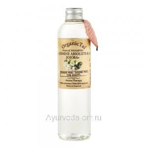 Натуральный шампунь для волос «ЖАСМИН И ЖОЖОБА», 260 мл, Органик Тай (Shampoo Jasmine Jojoba Organic Tai)