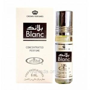 "Без Спирта Арабские Концентрированные Духи ""Бланк""  (Concentrated Perfume Blanc ) 6мл. AL-REHAB"