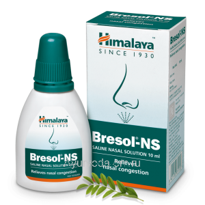 Капли-спрей для носа Бресол 15 мл. Хималая (Bresol-NS Himalaya Herbals) Индия