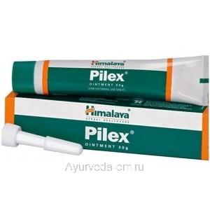 Крем (мазь) Пайлекс (Pilex), 30 г  от варикозного расширения вен и геморроя, Хималайа (Himalaya)