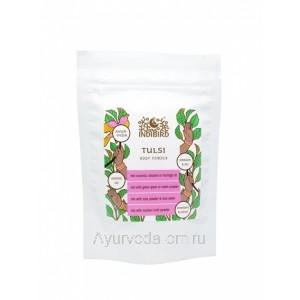 Тулси листья порошок 50 гр. (Tulsi Leaves Powder) ORGANIC Золото Индии