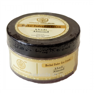 Крем для кожи вокруг глаз Миндальный 50 гр. Кхади (Khadi Almond Herbal Under Eye Cream) Индия