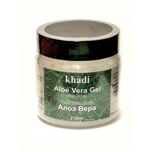Алоэ Вера Гель для лица 210 мл. Кхади (Aloe Vera Gel for Face Khadi) Индия