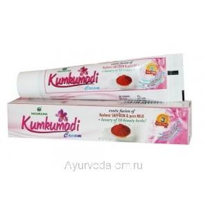 Омолаживающий крем для лица Кумкумади, 20 гр. Нагарджуна (Kumkumadi Nagarjuna) Индия