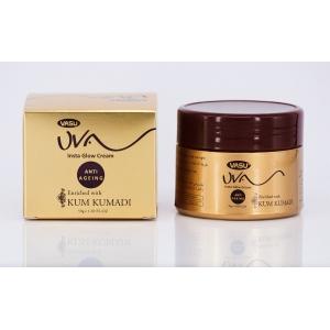 Крем для лица Кумкумади 50 мл Васу (UVA Insta Glow Cream Anti-Ageing Kumkumadi, Vasu) Индия