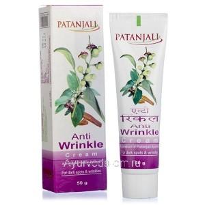 Крем против морщин 50 гр. Патанджали (Anti wrinkle cream Patanjali) Индия