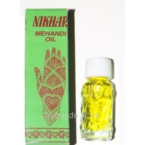 Масло для Мехенди Nikhar, 4мл. Индия