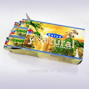 Благовония  Satya NATURAL 15gm
