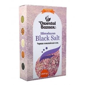 Черная гималайская соль, 200гр. Black Salt Shri Ganga Индия