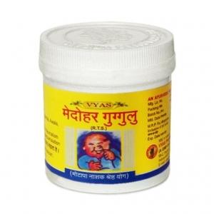 Medohar Guggul Vyas (Медохар Гуггул) 100 таблеток.