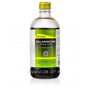 Аюрведический сироп Балариштам для лечения суставов 450 мл. Коттаккал Аюрведа (Balarishtam Kottakkal Ayurveda) Индия