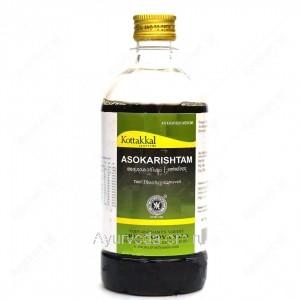 Аюрведический сироп Ашокариштам для женского здоровья 450 мл. Коттаккал Аюрведа (Asokarishtam Kottakkal Ayurveda) Индия