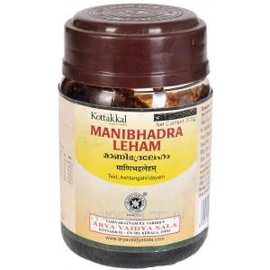 Манибхадра Лехам лечение тяжелых заболеваний 200 гр. Коттаккал Аюрведа (Manibhadra Leham Kottakkal Ayurveda) Индия