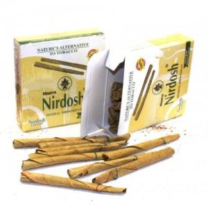 Сигареты без никотина Нирдош (Nirdosh) без фильтра, 1шт ( упаковка - 20 сигарет)