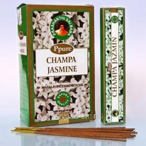 Благовония Ppure Jasmine 15gr. (НагЧампа Жасмин), Индия