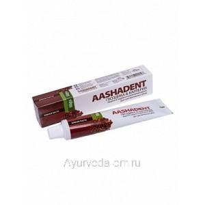 Зубная паста Аашадент Гвоздика и барлерия (для чувствительных зубов) 100 гр. AASHADENT Индия