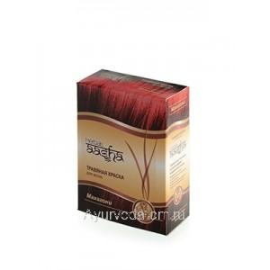"Травяная краска для волос ""Махагони"", 60 г. Ааша Хербалс (Индия)"