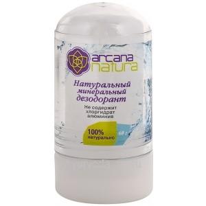 Натуральный минеральный дезодорант 120 гр. Arcana Natura