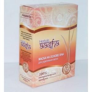 Маска для волос на основе хны Ааша Хербалс, 80г. Aasha Herbals
