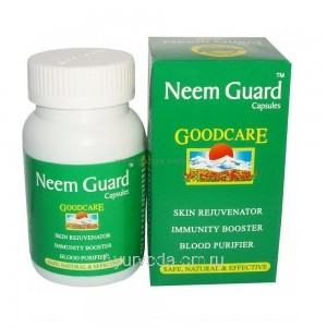 Ним Гард, 60 капсул (Neem Guard Goodcare) - чистая кожа