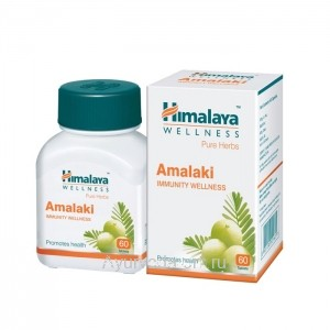Амалаки (Amalaki) Himalaya, Индия (60 таблеток)