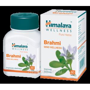 Брами (тоник для мозга) 60 таб. Brahmi Himalaya, Индия