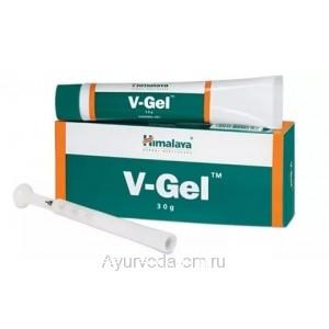 V-Gel интимный гель, 30г, Himalaya