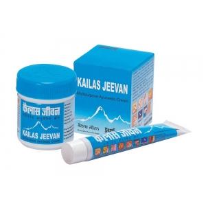 """Аюрведический крем-бальзам """"Кайлаш Дживан"""", (Kailas Jeevan) лечебный"""