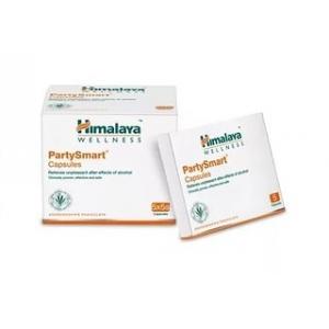 Himalaya Party Smart - растительное средство от похмелья 5капсул (Гималая Пати Смарт)
