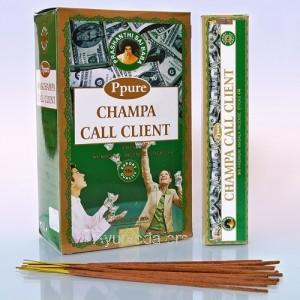 Благовония Ppure Call Client, 15gm, (Звонок клиента), Индия