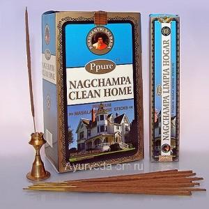 Благовония Ppure Clean Home,15gm, (Чистый дом), Индия