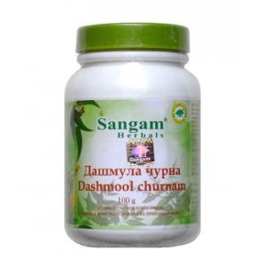 Маска-Скраб Дашмула Чурна (Dashmool Churnam) 100г. Sangam Herbals
