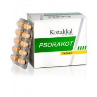 Псоракот от псориаза и заболеваний кожи 100 таб, Коттаккал Аюрведа (Psorakot Kottakkal Ayurveda)