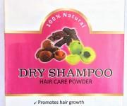 Сухой шампунь Амла + Ритха + Шикакай, 100 г, Шанти Веда (Dry Shampoo Hair Care Powder Shanti Veda)