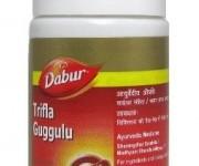 Трифала Гуггул Дабур (Triphala (Trifla) Guggulu Dabur) 40 таб.